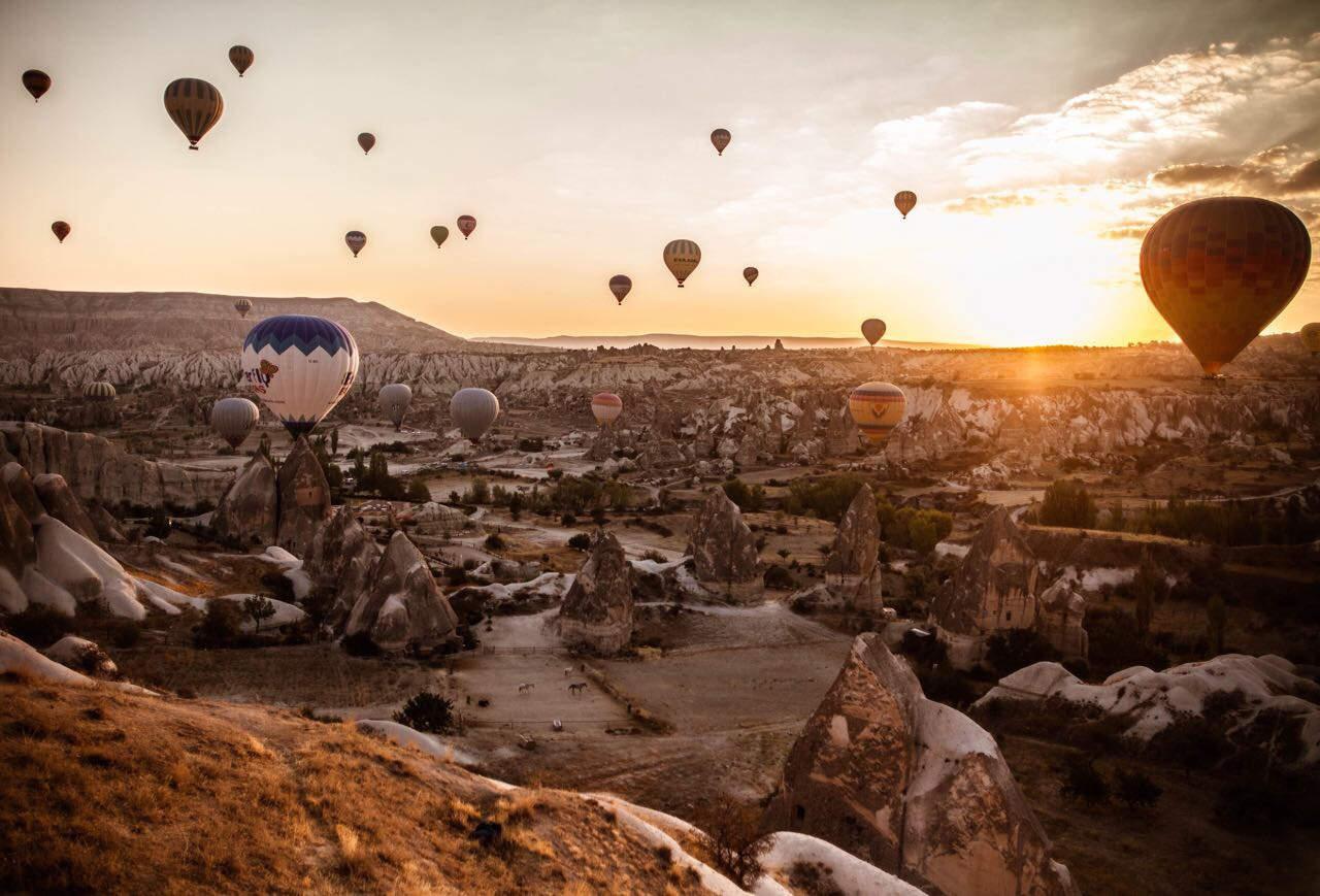 Turkey, Nevsehir