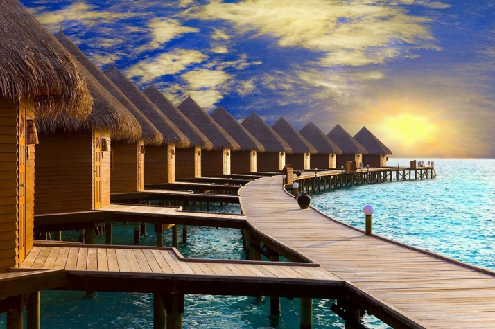 AIR TICKETS PROMOTION! Maldives, Male - Kyiv 03.03.2021 14439 ₴